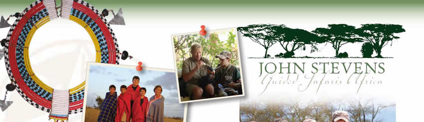 John Stevens Guided Safaris Africa